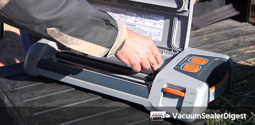 Vacuum Sealers for Outdoors or Emergencies