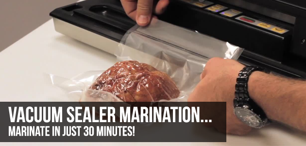 marinating with vacuum sealers