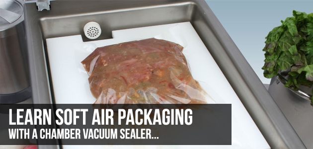 soft air packaging chamber sealers