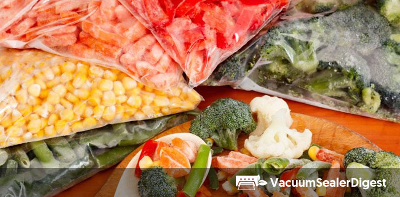 vacuum seal fruits veggies