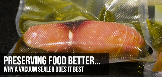 why vacuum sealers preserve food better
